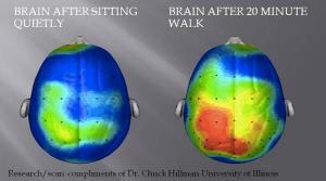 Your Brain on Walking Meetings